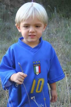 My son, Leo
