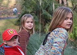 Leo, Bea, Olivia