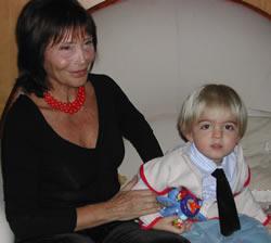 My aunt & Leonardo