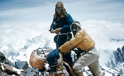 Edmund Hillary & Sherpa Tenzing