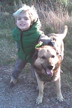 Leo and Wolfie