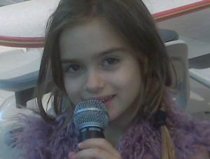Bea sings