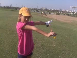 golfing olive